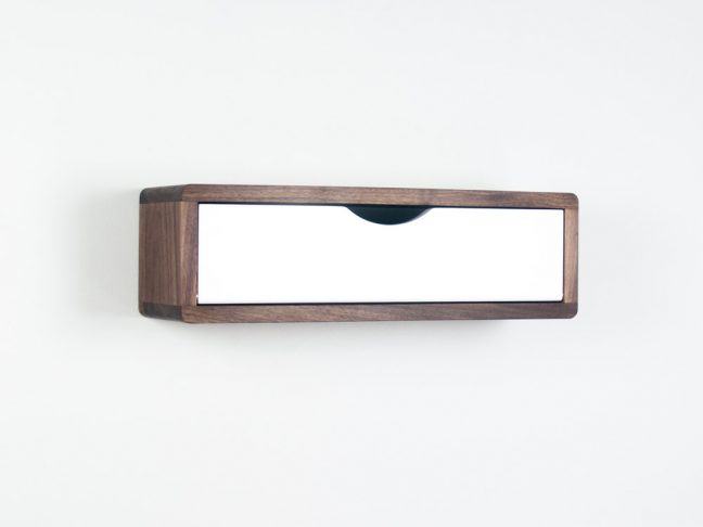 Floating Entryway Shelf, hardwood floating shelf is the modern Danish wall cabinet