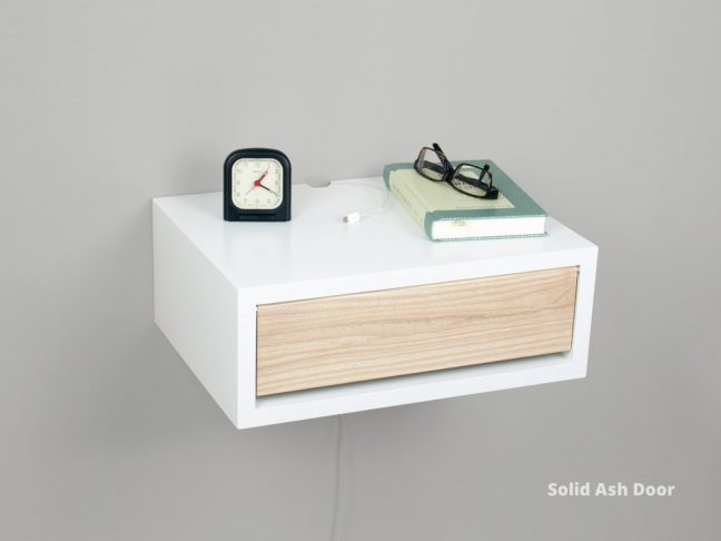 Modern Floating Nightstand Floating Bedside Table Spark