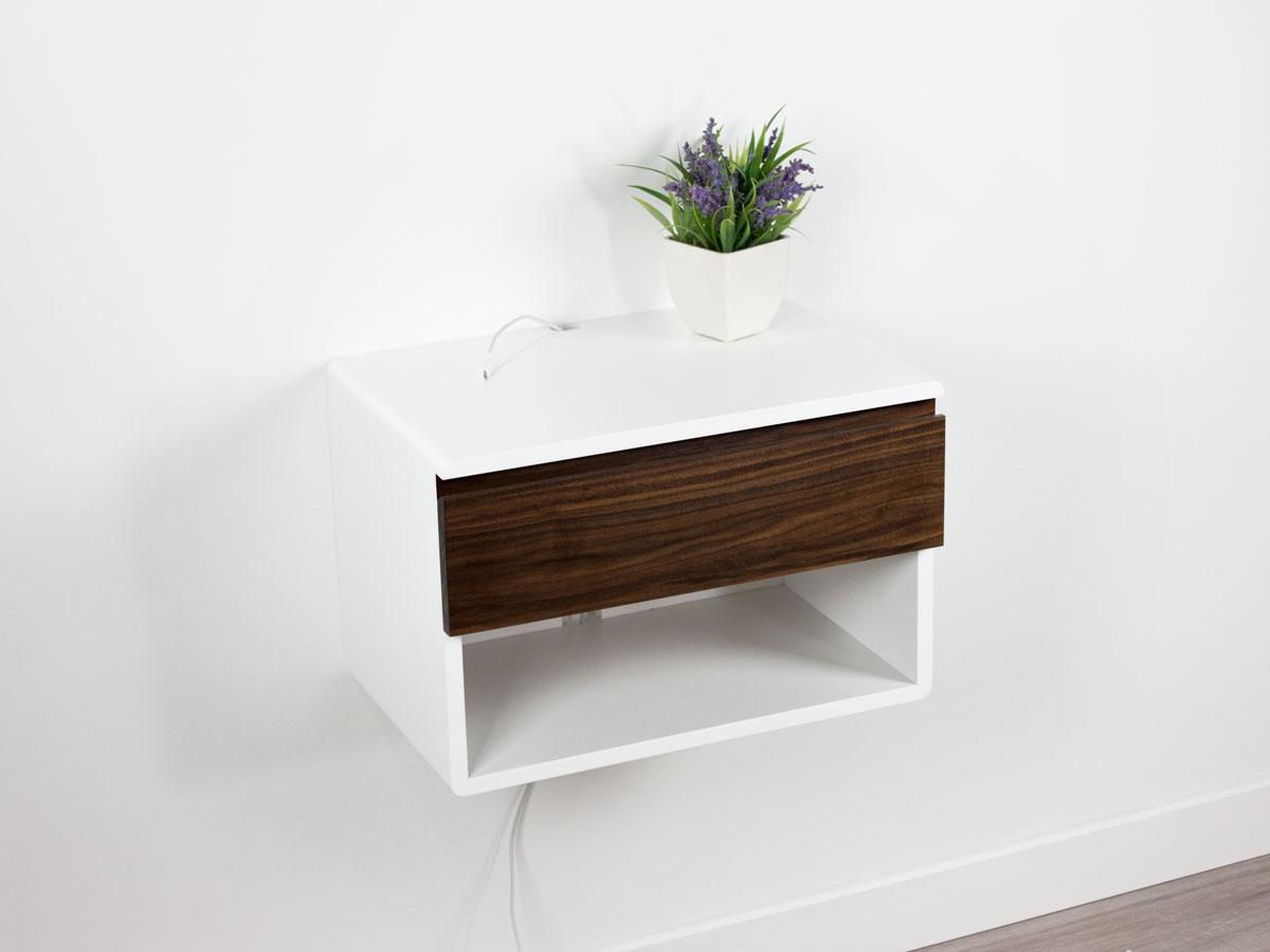 Blance Walnut 18x12x12 drawer 3